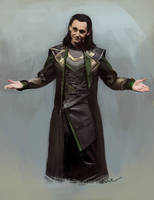 Loki (Comic-Con version) by WisesnailArt
