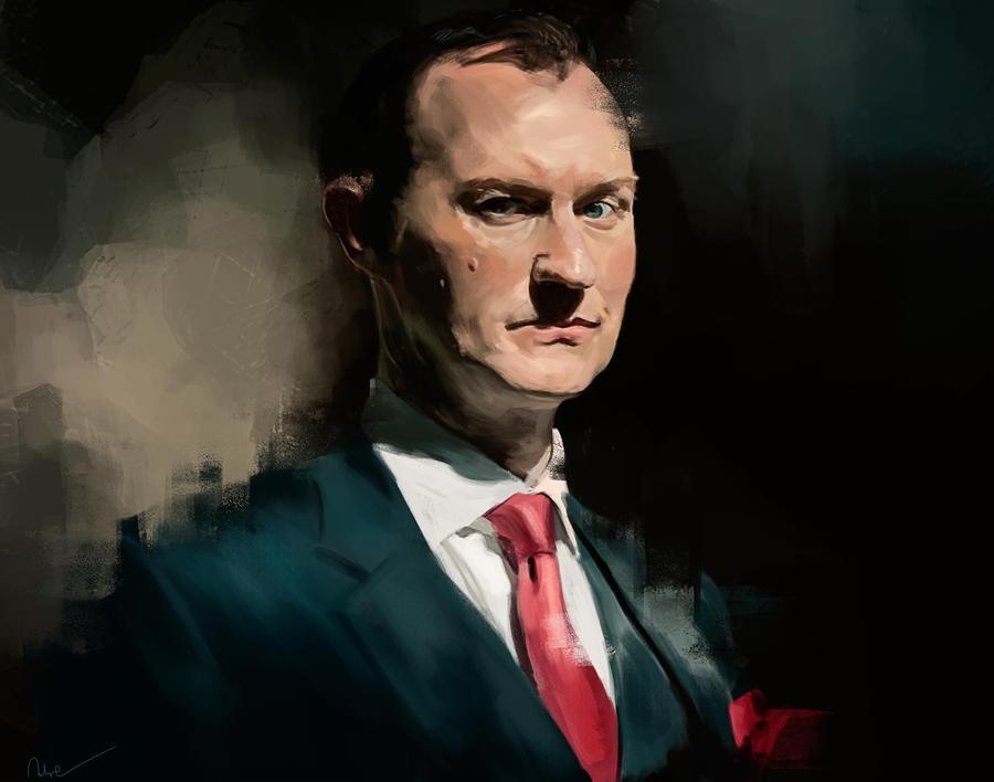 Mycroft Holmes by Namecchan