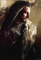 Thorin Oakenshield by WisesnailArt