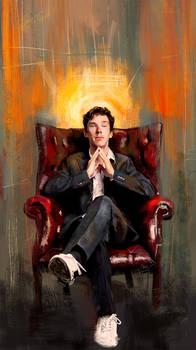 Sitting Benedict