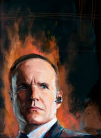 Phil Coulson by WisesnailArt
