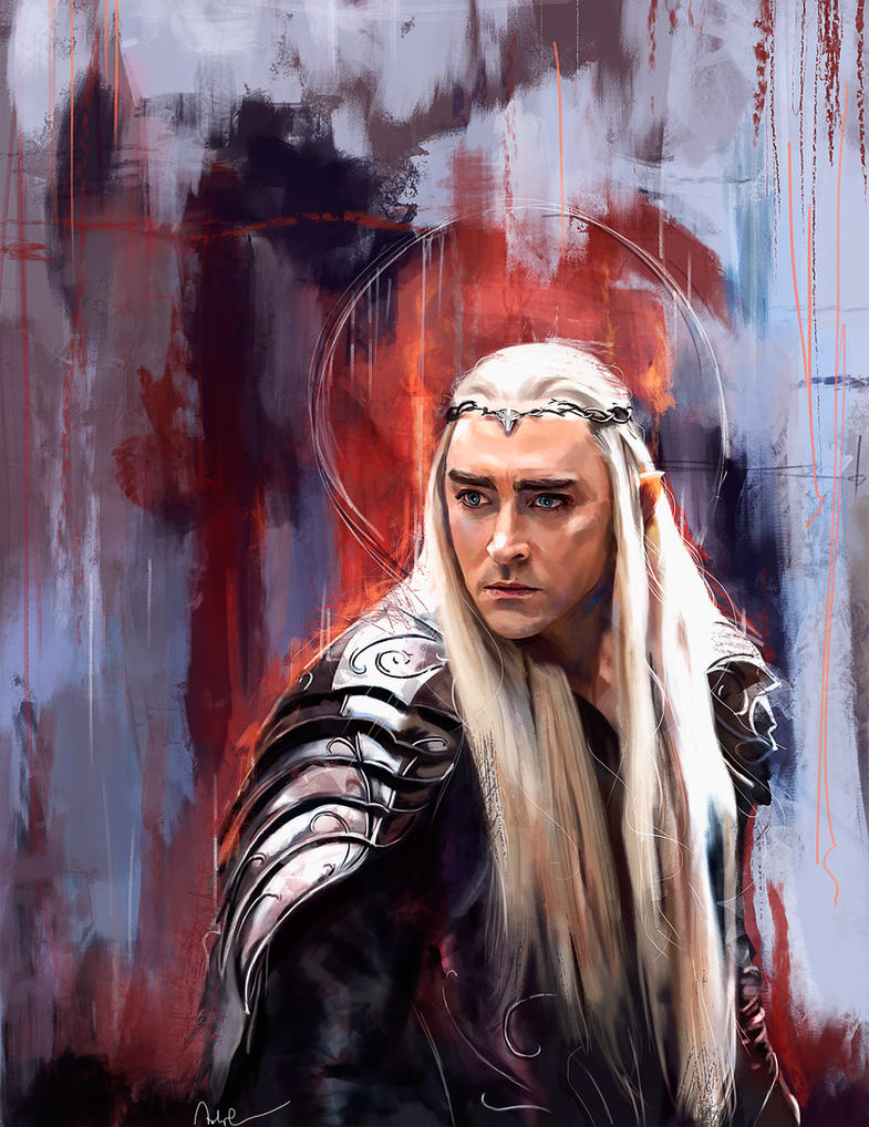 Thranduil - The battle of the five armies by Namecchan on