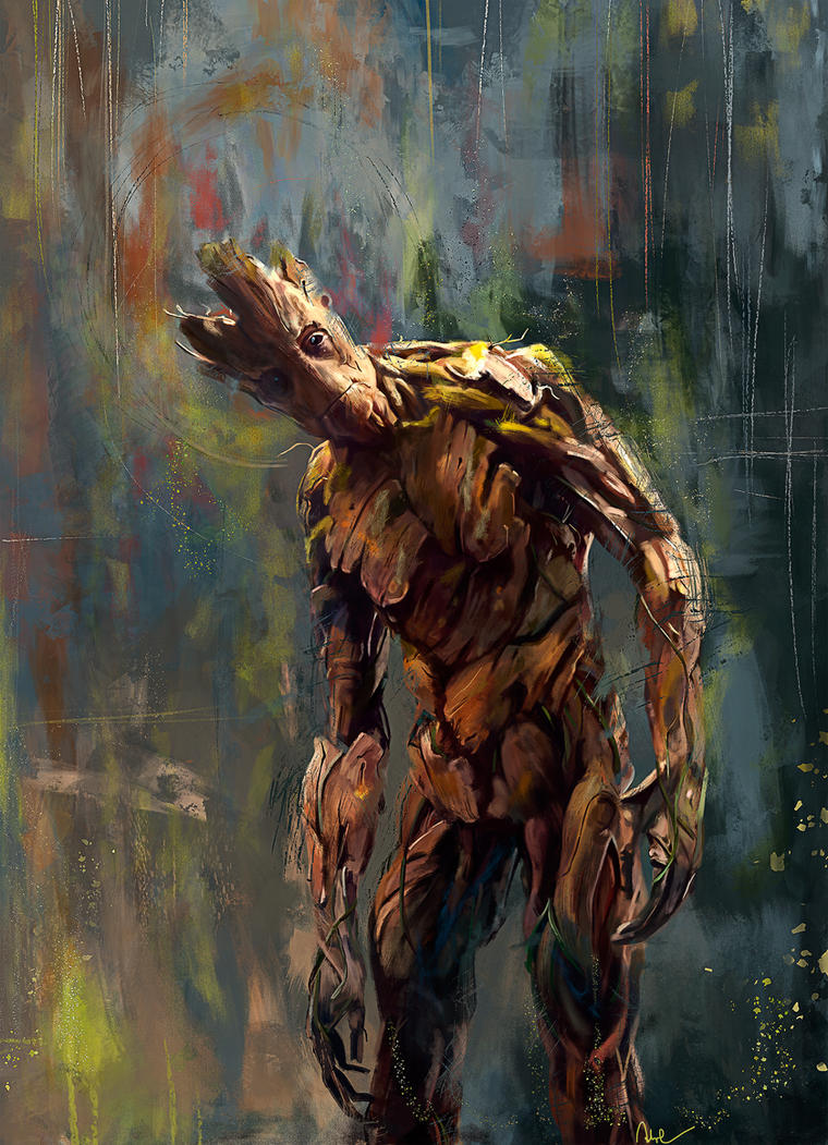 I Am Groot I am Groot! by Wisesna...