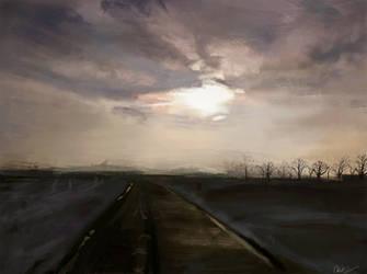La strada by WisesnailArt