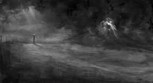 Mount Doom speedpainting by WisesnailArt