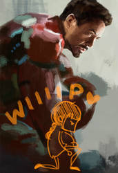 Iron Man WIP by WisesnailArt