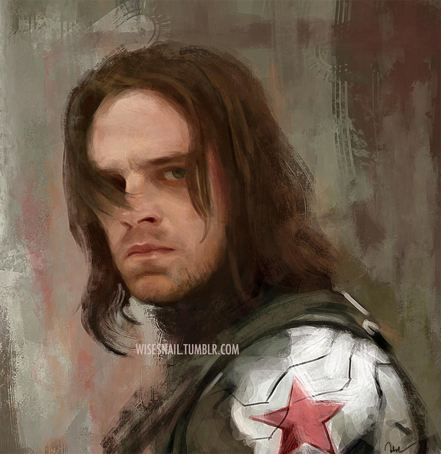 Winter Soldier - study + video by Namecchan