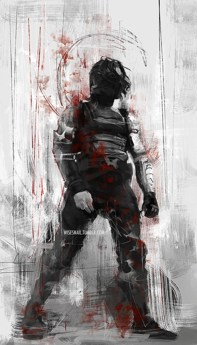 The Winter Soldier By WisesnailArt
