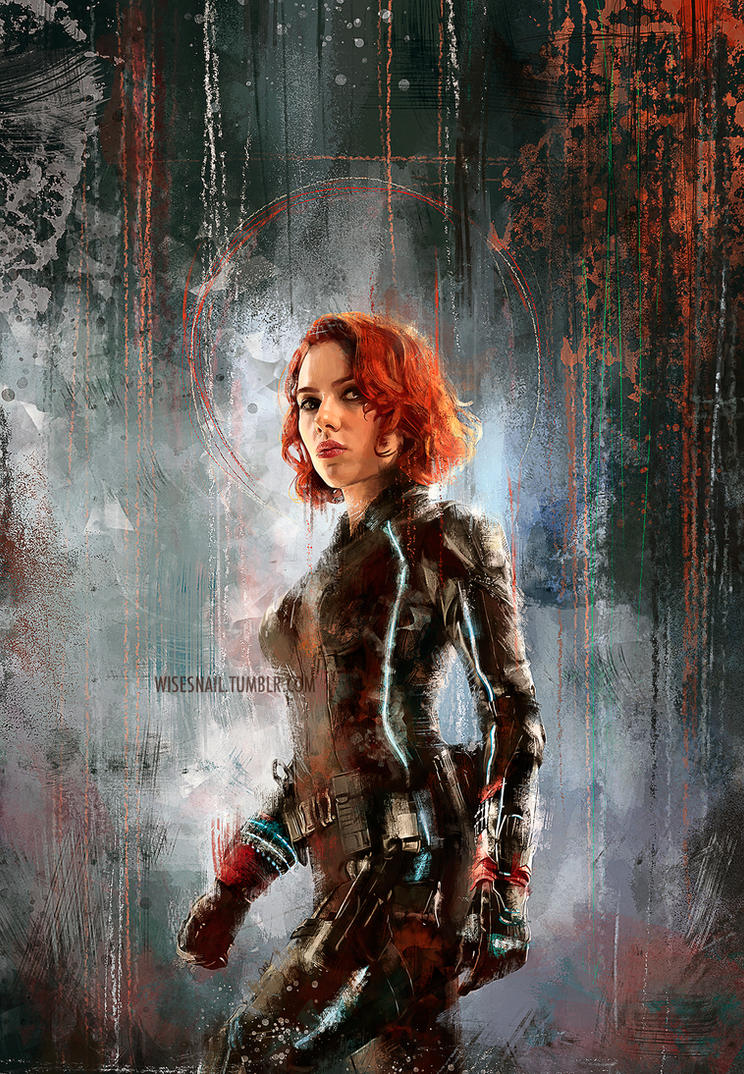 Black Widow by Namecchan