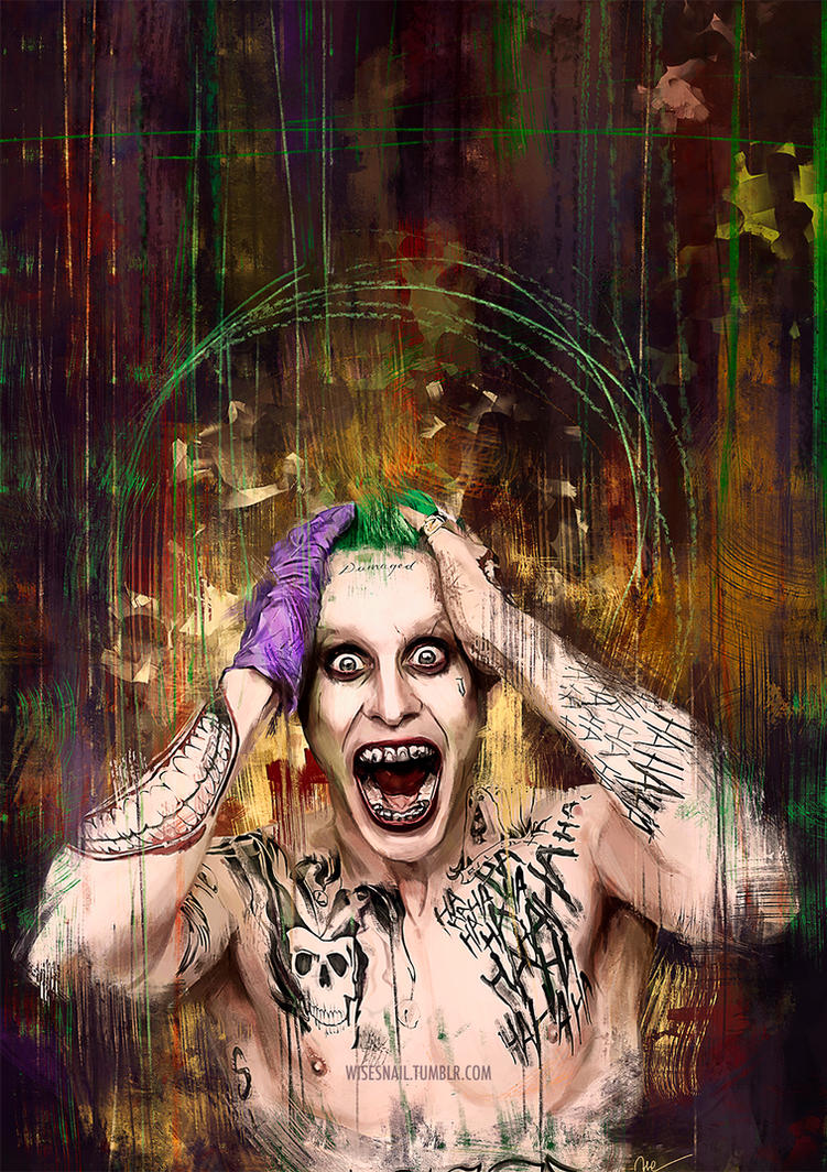 Joker - Suicide Squad style by Namecchan