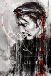 Mads Mikkelsen - speed painting by WisesnailArt