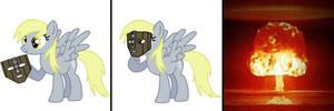 Masked Derpy Hooves