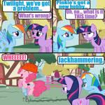 Pinkie's new hobby