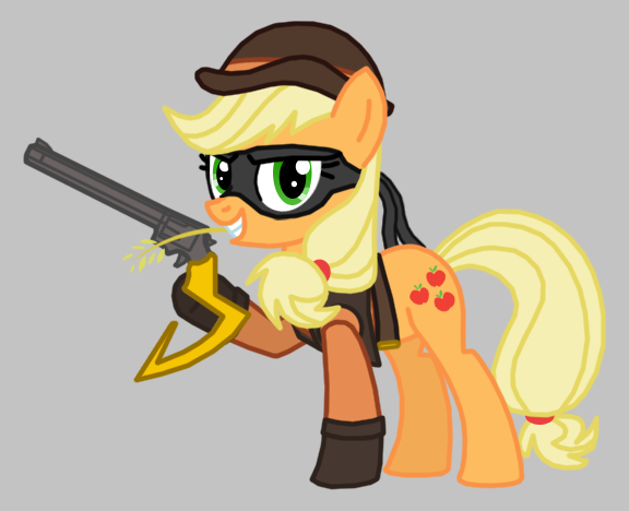 Applejack As Tennessee Kid Cooper By Death Driver 5000 On