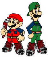 The Super Mario Bros by Death-Driver-5000