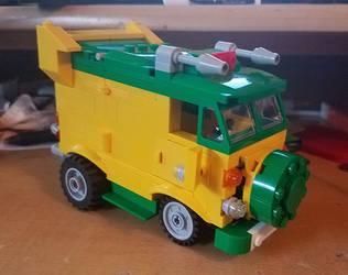 Lego TMNT Party Wagon MOC