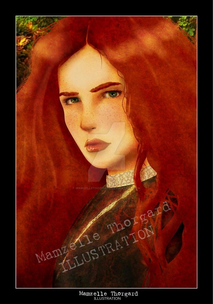 irish girl by MamzelleThorgard