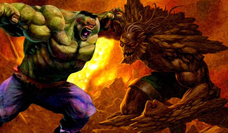 Hulk vs Doomsday by jaysteve on DeviantArt Doomsday Vs Hulk Who Wins