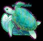 Sea Turtle - Sojourner's Spirit by StellafeyDesigns