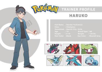 [Pokemon OC] Haruko Yoshimura by DB898