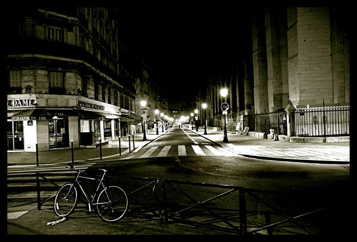 Paris at Night by x-horizon
