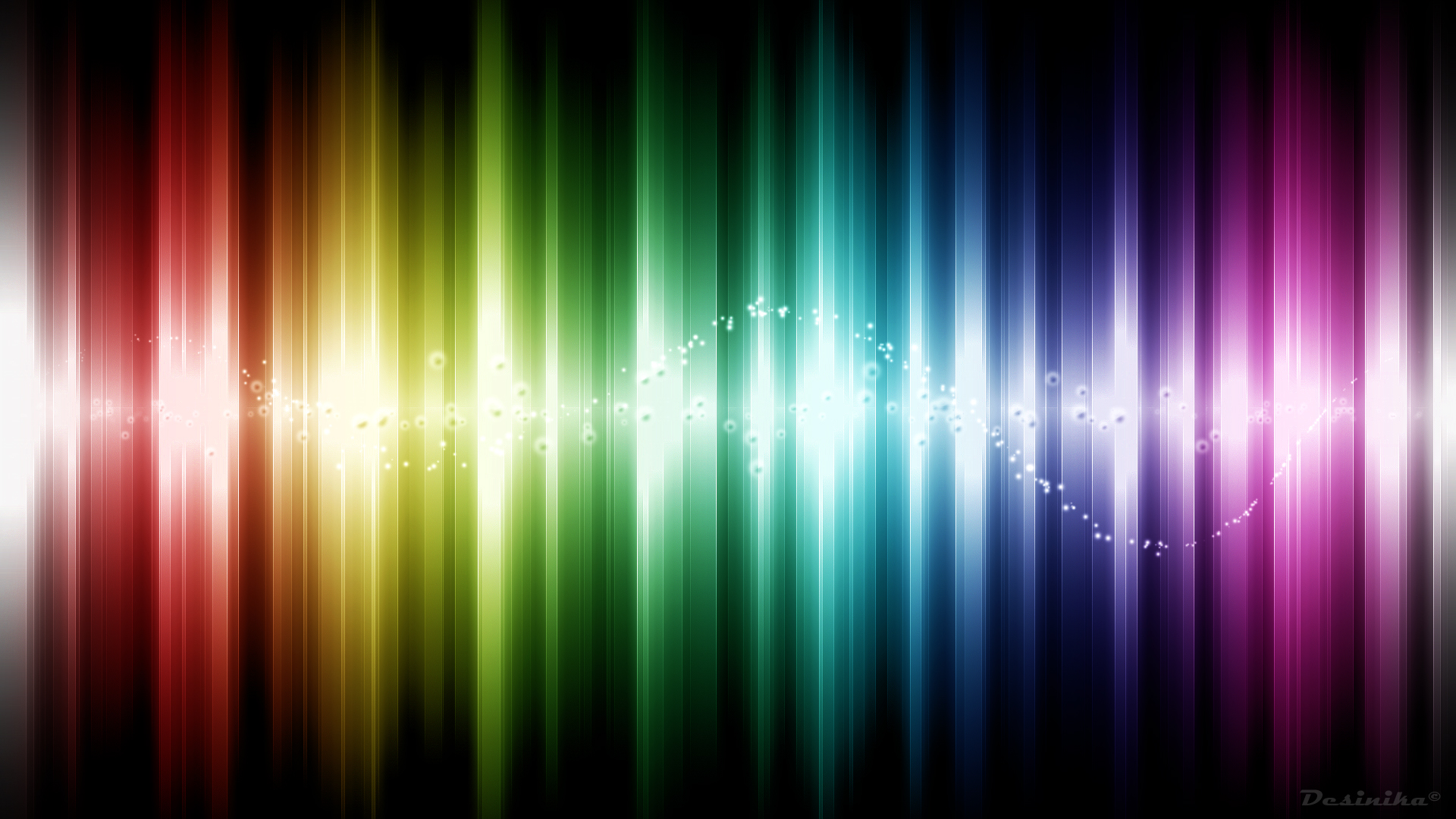 wallpapers abstract rainbow colours - photo #18