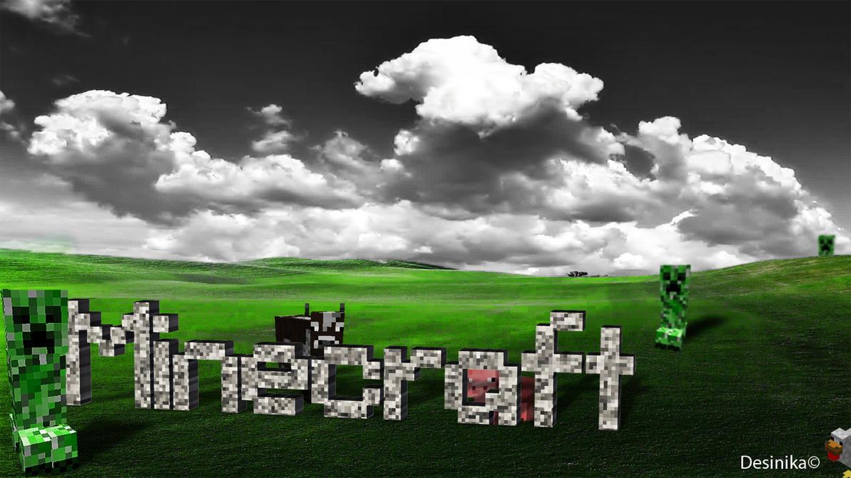 Minecraft wallpaper by desinika
