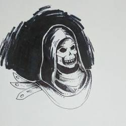 Inktober Day 7- Skeletor