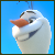 free Olaf Smile