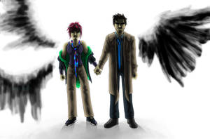 YahoelXCastiel--Heaven's Wrath by joshin-yasha