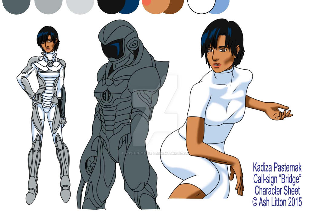 Kadiza Pasternak - Character Sheet