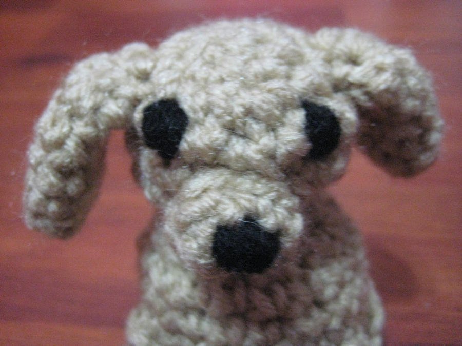 Amigurumi Crochet Dog : Crochet amigurumi dog by neonjello17 on deviantART