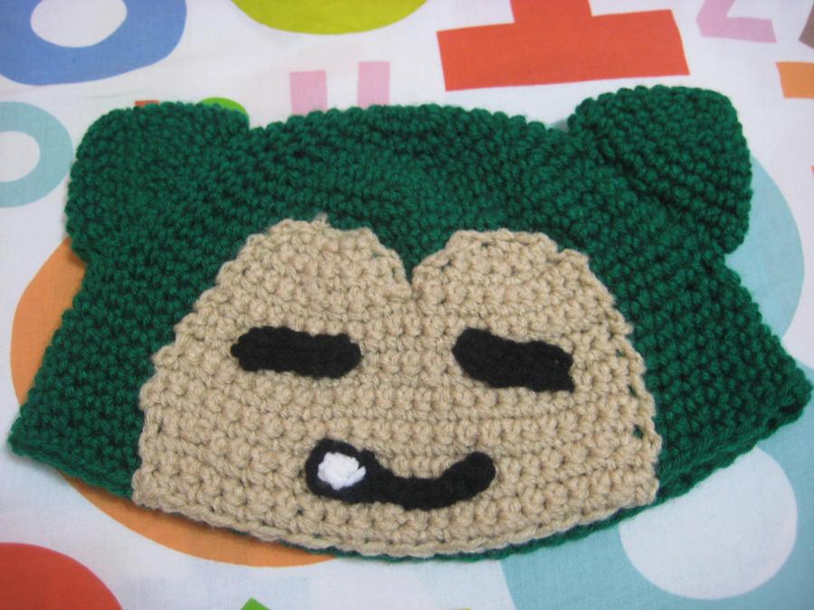 Free Crochet Pattern Pokemon Hat : Gallery For > Snorlax Hat