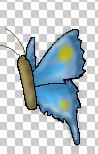 Random Pixel Butterfly o3o by DarkBloodPro