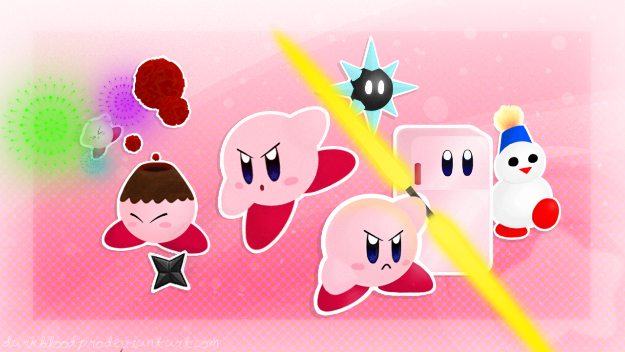 Kirby 64 Copy Abilities - Part 1 by DarkBloodPro