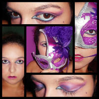 Gothic-venetian Make Up by lelita8