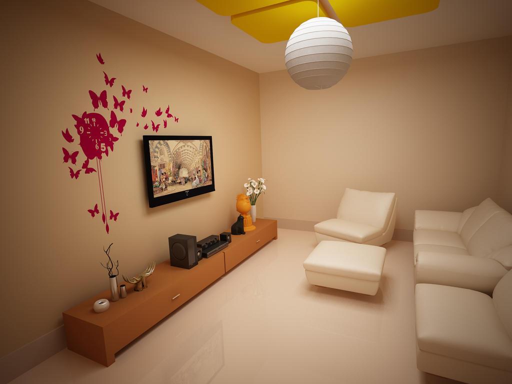 Small Tv Room By Imranbhatti On Deviantart