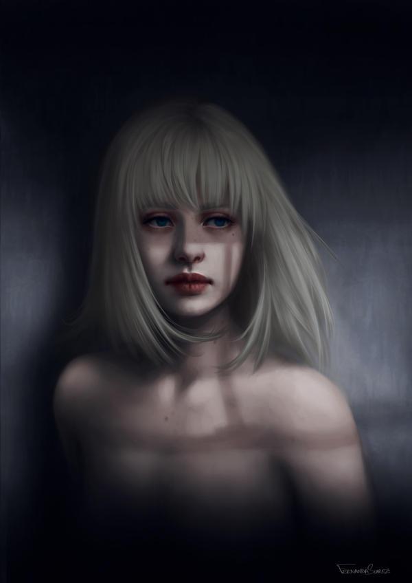 Bat your eyes girl by fdasuarez