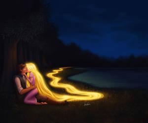 Glowing in the dark by fdasuarez