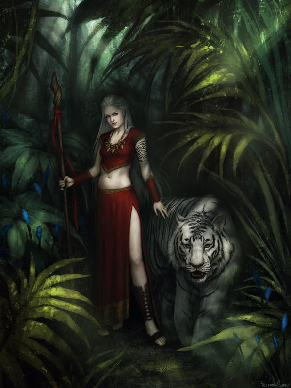 Sorceress by fdasuarez
