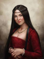 Scarlet Gregor by fdasuarez