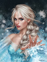Elsa by fdasuarez