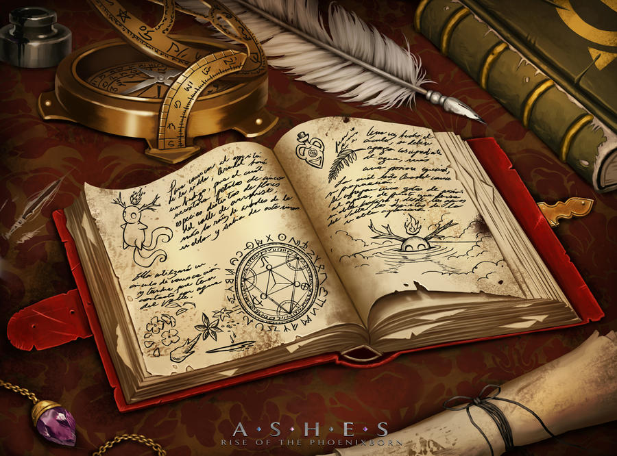 White magic spell book
