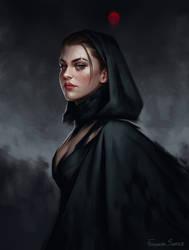 Female Portraits Humans With Dark Hair On Fantasy Npc Deviantart