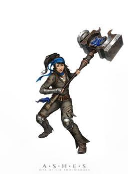Hammer Knight blue