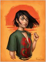 Mulan by fdasuarez