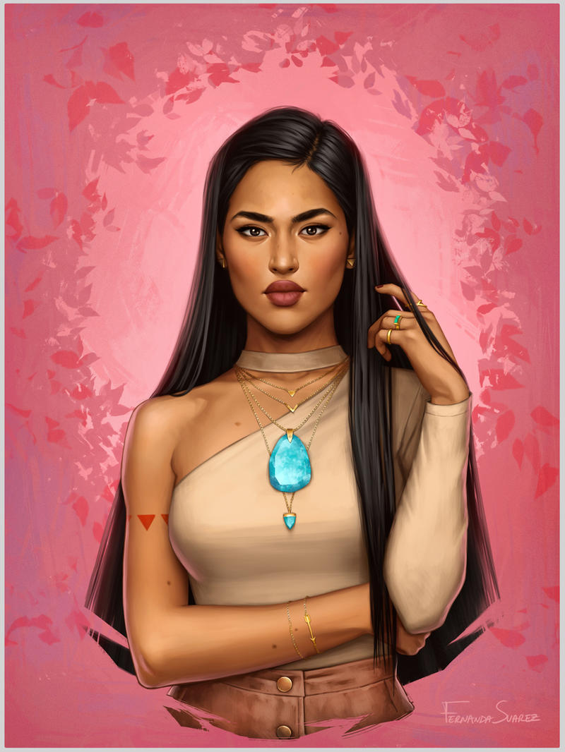 Pocahontas by fdasuarez