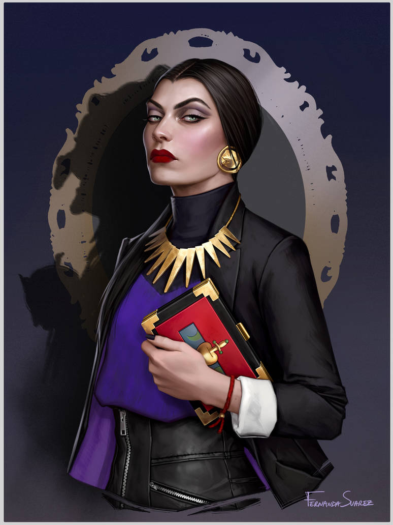 Evil Queen by fdasuarez on DeviantArtDisney Evil Queen Art