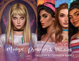 Modern Princesses Calendar II (re upload)