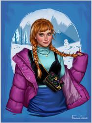 Anna by fdasuarez